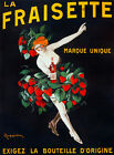 Decorative Poster.Fine Graphic Home Art Design. La Fraisette Marque Unique. 2745