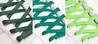 FLAT GREEN SHOE LACES LONG SHOELACES - 8mm wide - 11 LENGTHS - 3 SHADES