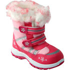 ** GIRLS WINTER KIDS FUR SNOW MOON MUCKER WATERPROOF WELLINGTON WELLIES SHOES
