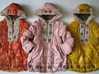 Xmas Boutique Design Girls Winter Hooded Coat Jackets Size 6 7 8 09 10t Years