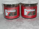 Bath Body Works 3 Wick Holiday Candles X2 *U Choose Scent*