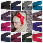 SATIN BENDY WIRED WIRE HAIR WRAP SCARF HEAD BAND 50'S 40'S VINTAGE STYLE DARK
