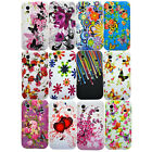 For Samsung Galaxy Ace S5830 Varies Colourful Flower Silicone Phone Case Cover