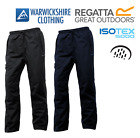 Regatta Mens Chandler Waterproof Trousers Lined 100% Windproof Breathable £16.99