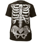 NEW Skeleton Body X-Ray Ribs Vintage Retro Fade Look Adult Sizes T-shirt top tee