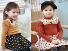 NWT Girls Kids Polka Dots Top Tutu Dress Princess Age 2-7Y Party Clothing Lovely