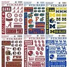 NCAA Assorted College Die Cut Vinyl Stickers TOTAL CLOSEOUT