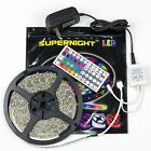 SUPERNIGHT RGB 5M 3528 LED Strip Light 300leds + 44key Controller + Power Supply