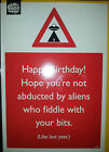 BIRTHDAY Card Hilarious Funny rude cards joke Adult humour Naughty Risque NEW