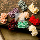 Embellishment Resin Little Flower Vintage Flatback Cabochon Cameo 26x17mm RB0506