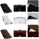 BELT CLiP PU LEATHER POUCH CASE COVER HOLSTER WALLET for Spice Mi-410
