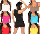 Sexy Women Fashion Casual Tank-Top Shirt - One size UK : 6 8 10 - XS S M