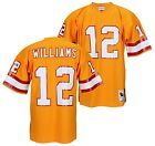 Tampa Bay Buccaneers DOUG WILLIAMS Mens NFL Throwback Jersey, Orange