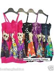 "GIRLS SUMMER DRESS KIDS ""kitty"" LONG TOP wear girl toddlers CHILDREN clothing"
