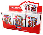 STANDARD PLASTIC COATED PLAYING CARDS POKER SIZE CARD GAMES BRIDGE GREAT GIFT