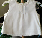 Coccoli Girls Sleeveless Top and Pants Linen/Cotton Blend 6m-4T NWT
