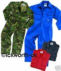 KIDS CHILDS BOILER SUIT OVERALL COVERALL 3-4 YEARS