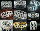 New Lot Rows Hollow Fancy Stretchy More Styles Crystal Rhinestone Bracelets