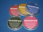 SNAZAROO Face Paints SPARKLE Colours 18ml, 30ml & 75ml -  Body Painting
