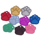 Aluminium Pet ID Dog Paw Identity Tag - Engraved FREE - Fast Dispatch