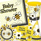 Yellow Busy BUZZY BEES Baby shower Birthday Party Items One Listing PS