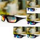 Outdoor Sport Sunglasses Classy Design Biker Wrap Multi Mirror Shades UV400 Mens