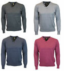 MENS JUMPER SMITH & JONES GERALDUS V-NECK KNITWEAR IN 4 COLOURS  SPECIAL PRICE