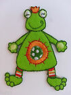 "Embroidered Iron On ""FROG"" Patch Other Choices Available also can be Sewn On"
