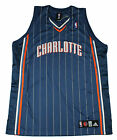 Adidas NBA Basketball Mens Charlotte Bobcats Authentic Jersey Blue
