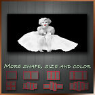 ' Marilyn Monroe ' Icon Modern Abstract Contempory Wall Art Framed Canvas Box -