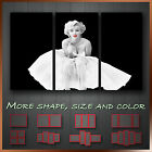 ' Marilyn Monroe ' Icon Modern Abstract Contempory Art Canvas Box ~ 3 Panels