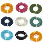 Oxhide Leather Cord Assorted Real Leather Jewelry Cord Necklace 1.5mm 65.61 Feet