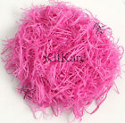 Candy Pink Shredded Tissue A/F From 20g Sample to 2000g.  FREE 1st Class Post