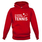 Rather Be Playing Tennis Kids / Childrens Hoodie - Wimbledon - Andy Murray