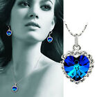 New Fashion Lady Ocean Jewelry Heart Women Necklace  XLK072