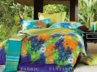 FLEUR Queen/King Size Bed Quilt/Doona/Duvet Cover Pillowcases Set New
