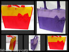 LARGE CUTE BOW CLOTH GIFT LUNCH SHOPPING LADIES GIRLS HANDBAG 2 COLOURS UKSELLER