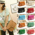 New fashion Women's PU Leather Satchel Shoulder Messenger Bag Handbag