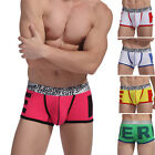 Strong New Men's Bulge Pouch Underwear Boxers Briefs Shorts Running Trunks Pants