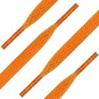 Orange Shoelaces Flat, Fat, Round Style by Shoe String King choose your lace