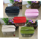 NEW Gift Leather Multicolour 2 Floors Jewelry Box Makeup Cosmetic Storage Case