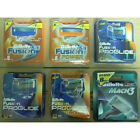 Gillette Razor Blades Refill Cartridges Fusion Proglide Power or Mach3 or Sensor