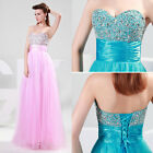 Sexy Bridesmaids Long Ball Gown Chiffon Evening Party Cocktail Prom Formal Dress