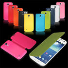 Ultra Slim Flip PU Leather Case Battery Cover For Samsung Galaxy S4 mini i9190