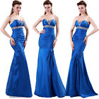 Shinning Mermaid New Sexy Formal Wedding Ball Gown Evening Prom Party Long Dress
