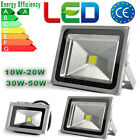 LED SOB Flood Light 10W 20W 30W 50W  Day/Warm White Waterproof IP65 Outdoor UK