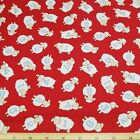 Sleepy Time Counting Sheep Numbers 100% Cotton Fabric