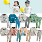 "[Korea] 2pcs Baby Toddler Kid Girl Boy Clothes Sleepwear Pajama Set""Mimir 8"""