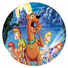 Scooby Doo Personalised Edible Rice/Icing Cake Topper 7.5 inch Circle