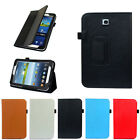 "Folio Leather Case Cover Stand For Samsung Galaxy Tab 3 7.0"" 7"" Tablet P3200 Sup"